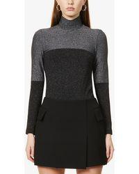 Wolford Selene Stretch-knit Body - Black