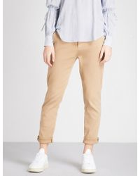 AG Jeans - The Caden Stretch-twill Trousers - Lyst