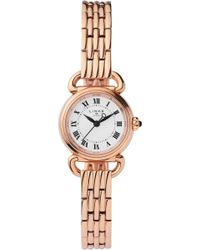 Links of London - 6010.2174 Driver Mini Rose Gold-plated Stainless Steel Watch - Lyst