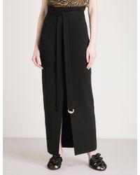 Nanushka - Zina Knitted Maxi Skirt - Lyst