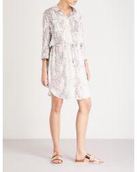 Heidi Klein Alhambra Woven Shirt Dress - White