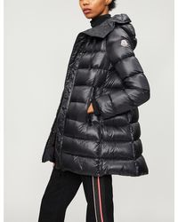Moncler Suyen Padded Shell-down Coat - Black