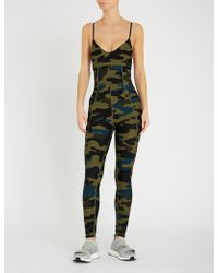 The Upside Camouflage Jumpsuit - Green