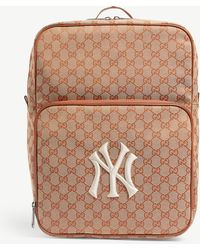 Gucci - Medium Backpack With Ny Yankeestm Patch - Lyst