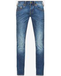 True Religion - Rocco Mid-rise Stretch-denim Jeans - Lyst