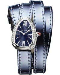 BVLGARI - Serpenti Interchangable Strap Watch - Lyst