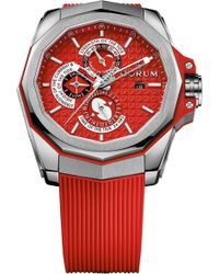 Corum - 27710104f376ar12 Admiral's Cup Ac-one 45 Tides Titanium Watch - Lyst
