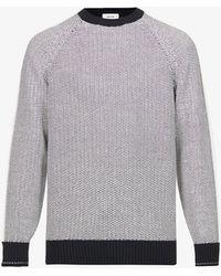 Z Zegna - Crewneck Cotton-knit Jumper - Lyst