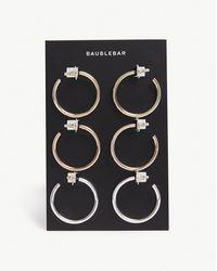 BaubleBar - Jordan Hoop Earring Set - Lyst