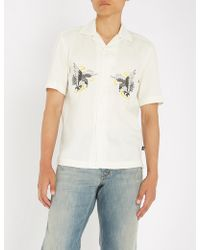 DIESEL - S-eagle Regular-fit Woven Shirt - Lyst