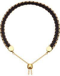 Astley Clarke - Kula Biography 18ct Yellow-gold Vermeil Midnight Bracelet - Lyst