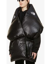 MM6 by Maison Martin Margiela X The North Face Shell-down Scarf - Black