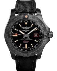 Breitling Mens Black V1731110/bd74 109w Blackbird Avenger Titanium Watch