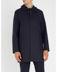 Mackintosh - Collared Bonded-cotton Coat - Lyst