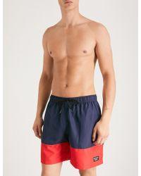 Björn Borg - Sebbe Colour-block Swim Shorts - Lyst