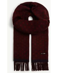 Ted Baker Spotted Scarf - Red