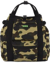 A Bathing Ape - Porter Camouflage Backpack - Lyst