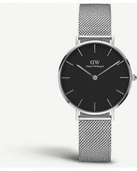 Daniel Wellington Classic Petite Stainless Steel Watch - Black