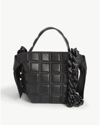 Acne Studios Musubi Quilted Leather Cross-body - Black