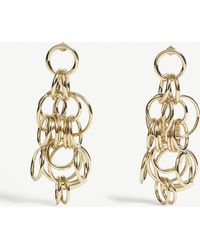 Chloé - Circle Drop Earrings - Lyst