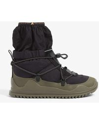 adidas By Stella McCartney Winter Branded Recycled Plastic Boots - Black