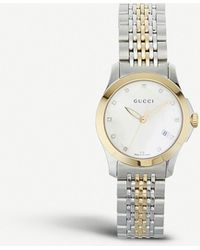 1098c1dc3f7 Gucci - Ya126513 G-timeless Collection Stainless Steel And Yellow-gold Pvd  Watch -