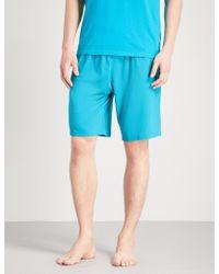 Derek Rose - Basel Stretch-jersey Pyjama Shorts - Lyst