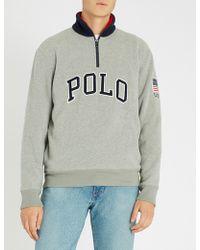 Polo Ralph Lauren - Zipped Polo Jumper - Lyst