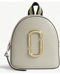 Marc Jacobs Pack Shot Mini Leather Backpack - Multicolour