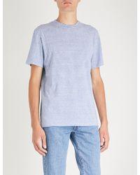 A.P.C. - Jimmy Cotton-jersey T-shirt - Lyst