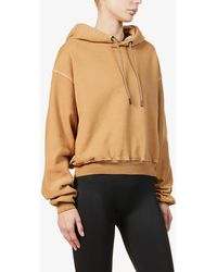 Reebok X Victoria Beckham Cropped Cotton Hoody - Multicolour