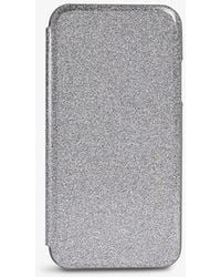 Ted Baker Rico Glitter-embossed Iphone 11 Case - Grey