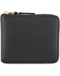 Comme des Garçons - Leather Zip-around Wallet - Lyst