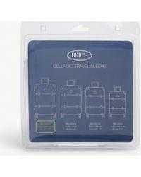 Bric's Transparent Bellagio Suitcase Cover - Blue