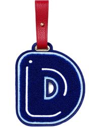 Chaos D luggage Tag - Blue