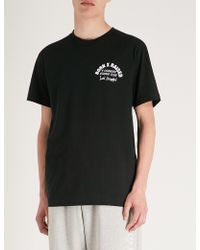 Born X Raised - Boxing-print Cotton-jersey T-shirt - Lyst