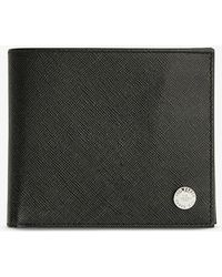 Ted Baker Rug Saffiano Leather Bifold Wallet - Black