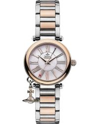 Vivienne Westwood - Vv006prssl Mother Orb Silver Watch - Lyst