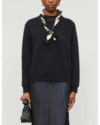 Acne Studios Oversized Organic Cotton Sweatshirt - Black