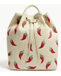 Skinnydip London - Chilli Woven Backpack - Lyst