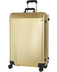ZERO HALLIBURTON - Aluminium Four-wheel Suitcase 73cm - Lyst