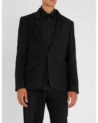 Chalayan - Striped Regular-fit Woven Jacket - Lyst