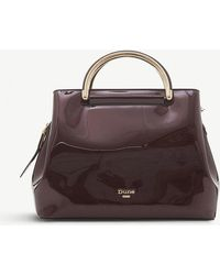 Dune - Daandelion Faux-leather Varnished Tote - Lyst