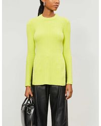 TOPSHOP Neonchenille Tunic By Boutique - Yellow