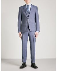HUGO | Tailored-fit Wool Suit | Lyst