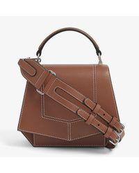 Byredo Blueprint Mini Leather Cross-body Bag - Brown