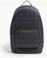 977f1a5e367e Burberry - London Check Slim Backpack - Lyst