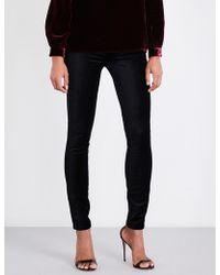 PAIGE - Edgemont Skinny High-rise Velvet Jeans - Lyst