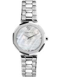 Versace - V-muse Stainless Steel Watch - Lyst