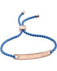 Monica Vinader - Havana 18ct Rose Gold-plated Friendship Bracelet - Lyst
